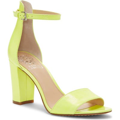 Vince Camuto Corlina Ankle Strap Sandal, Yellow (Nordstrom Exclusive)