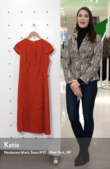 Leopard Jacquard Dress, sales video thumbnail
