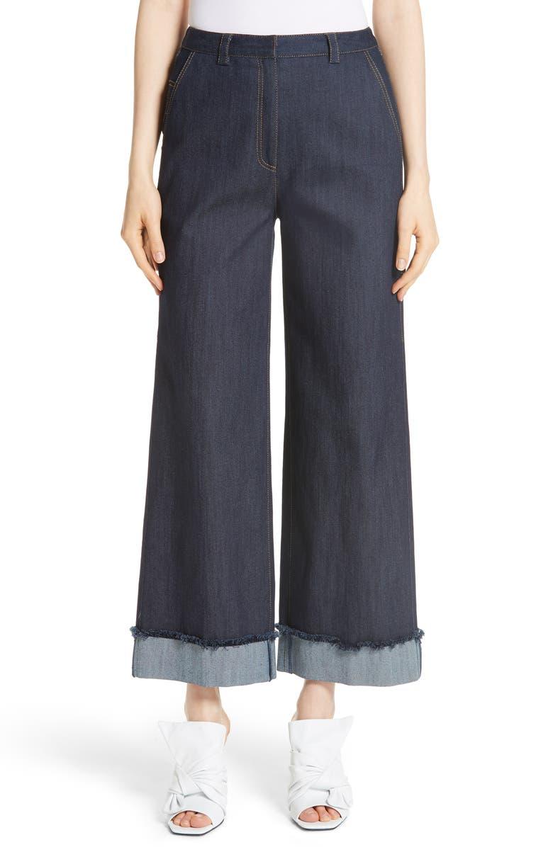 CINQ À SEPT Gemma Wide Leg Jeans, Main, color, 422