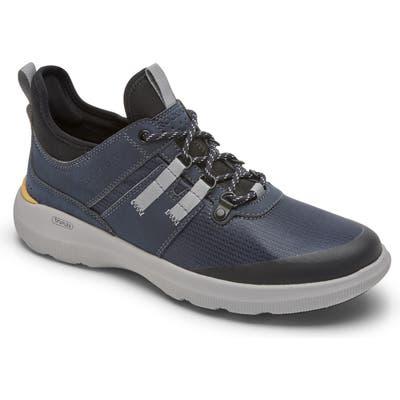 Rockport Truflex Hybrid Waterproof Sneaker, Blue