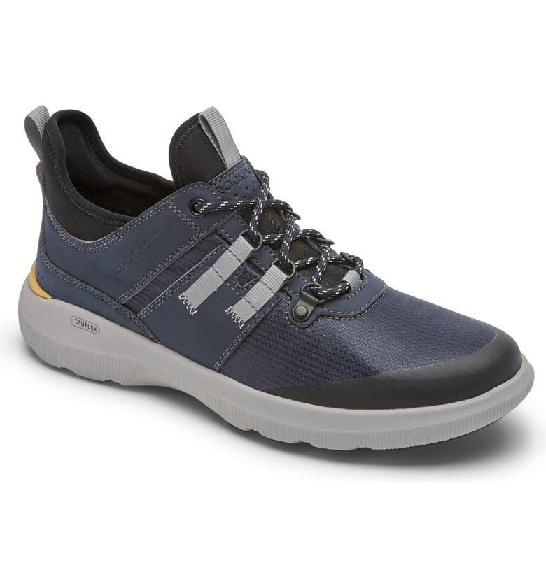 ROCKPORT truFLEX Hybrid Waterproof Sneaker, Main, color, BLUE