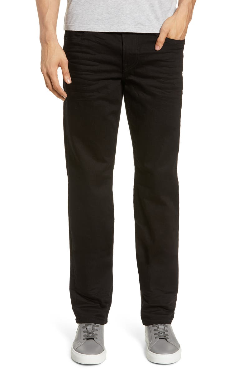HUDSON JEANS Byron Slim Straight Leg Jeans, Main, color, 001