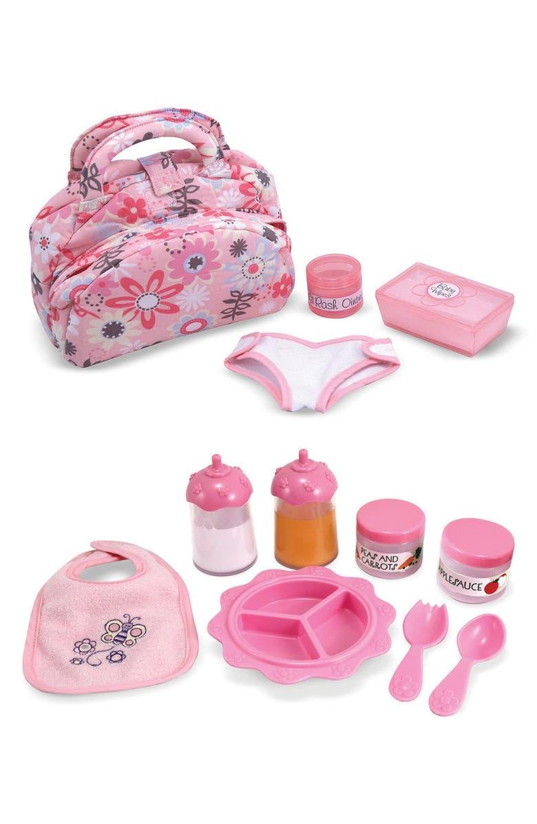 MELISSA & DOUG Baby Doll Accessories Set, Main, color, 650