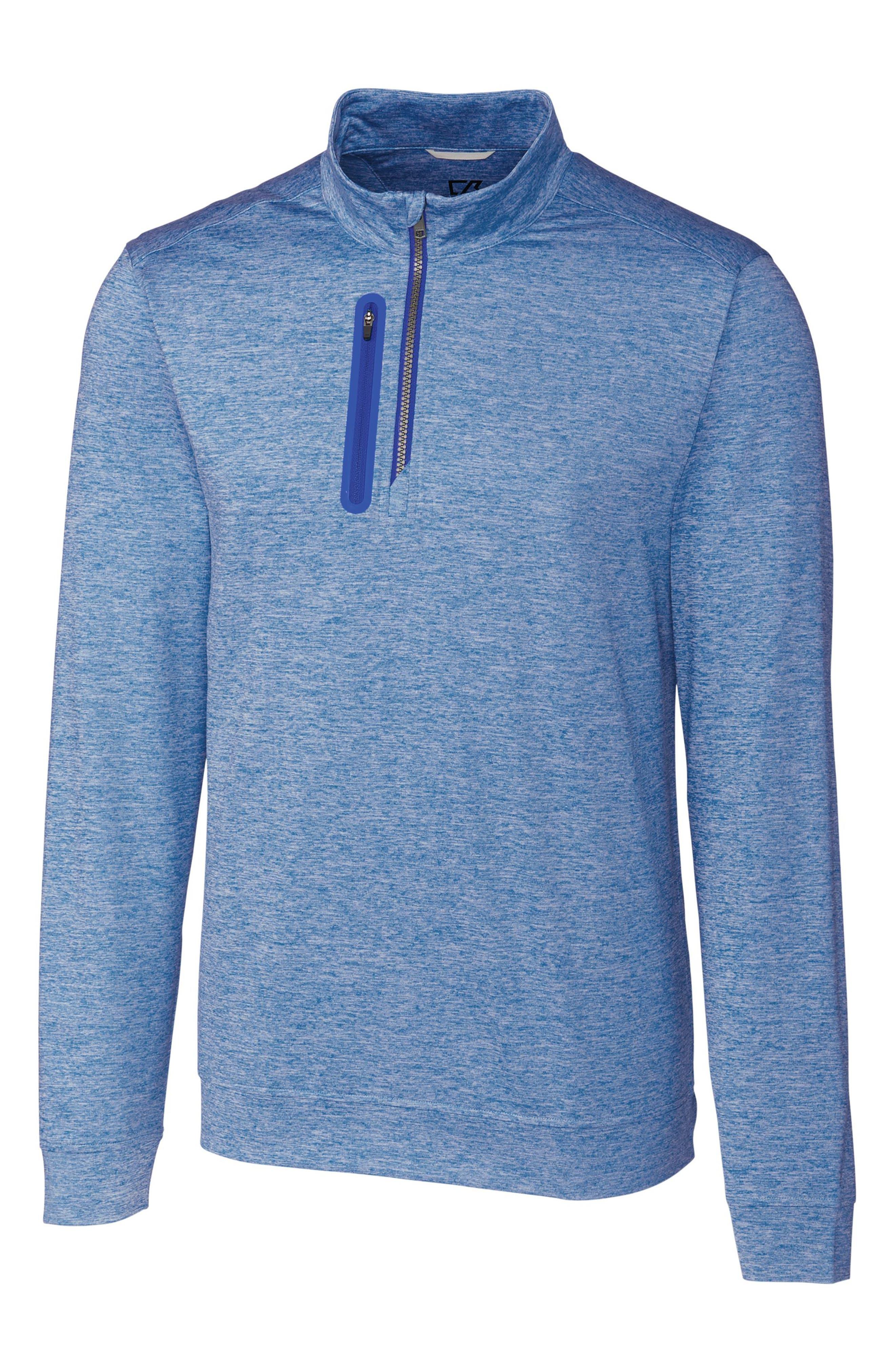 Stealth Regular Fit Half Zip Pullover