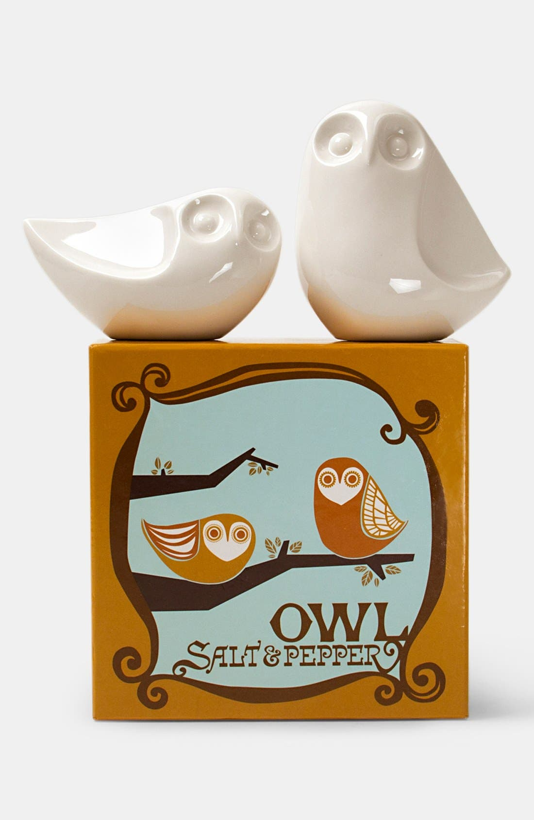 ,                             Owl Salt & Pepper Shakers,                             Alternate thumbnail 2, color,                             000