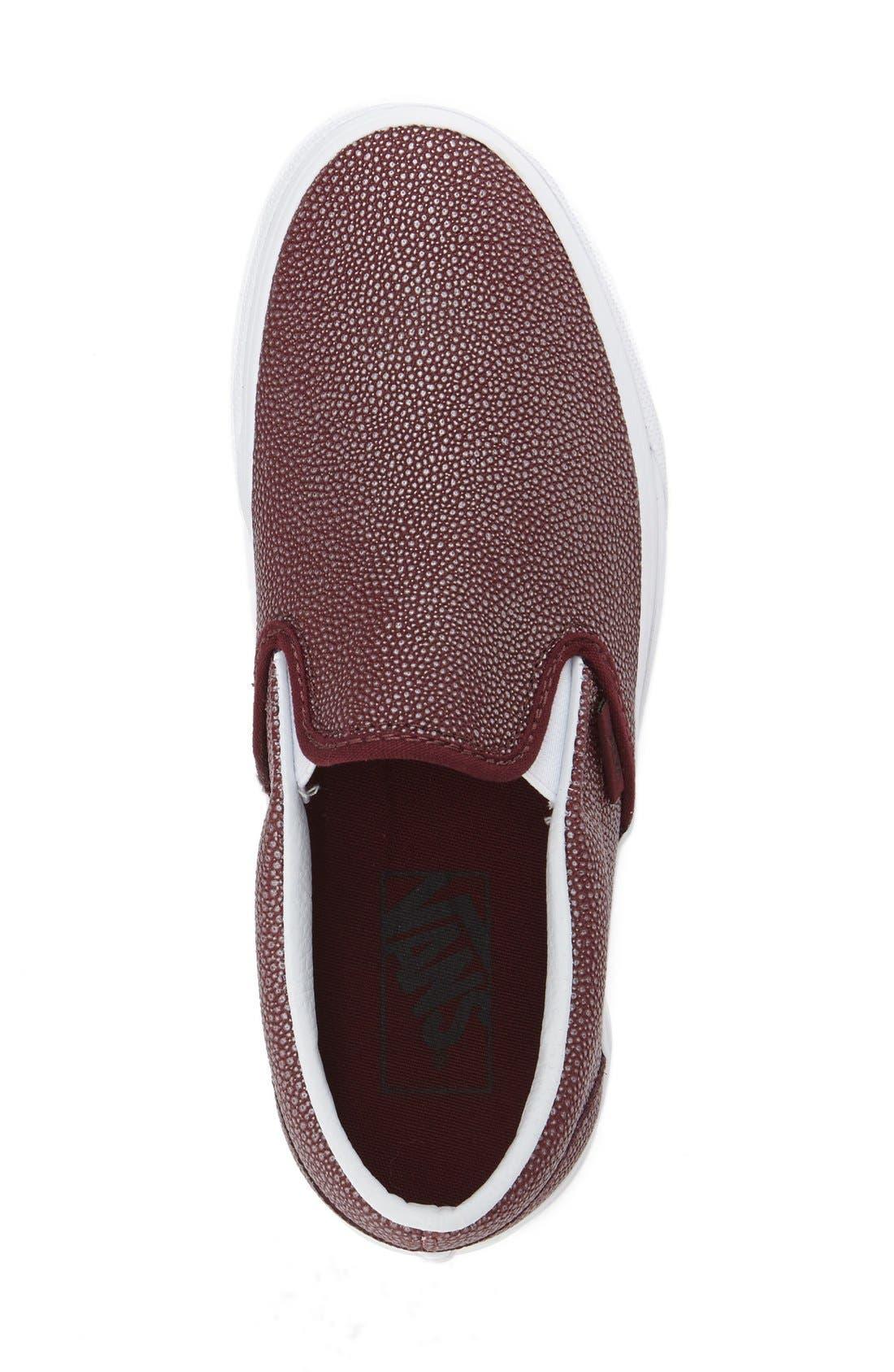 ,                             Classic Slip-On Sneaker,                             Alternate thumbnail 380, color,                             601