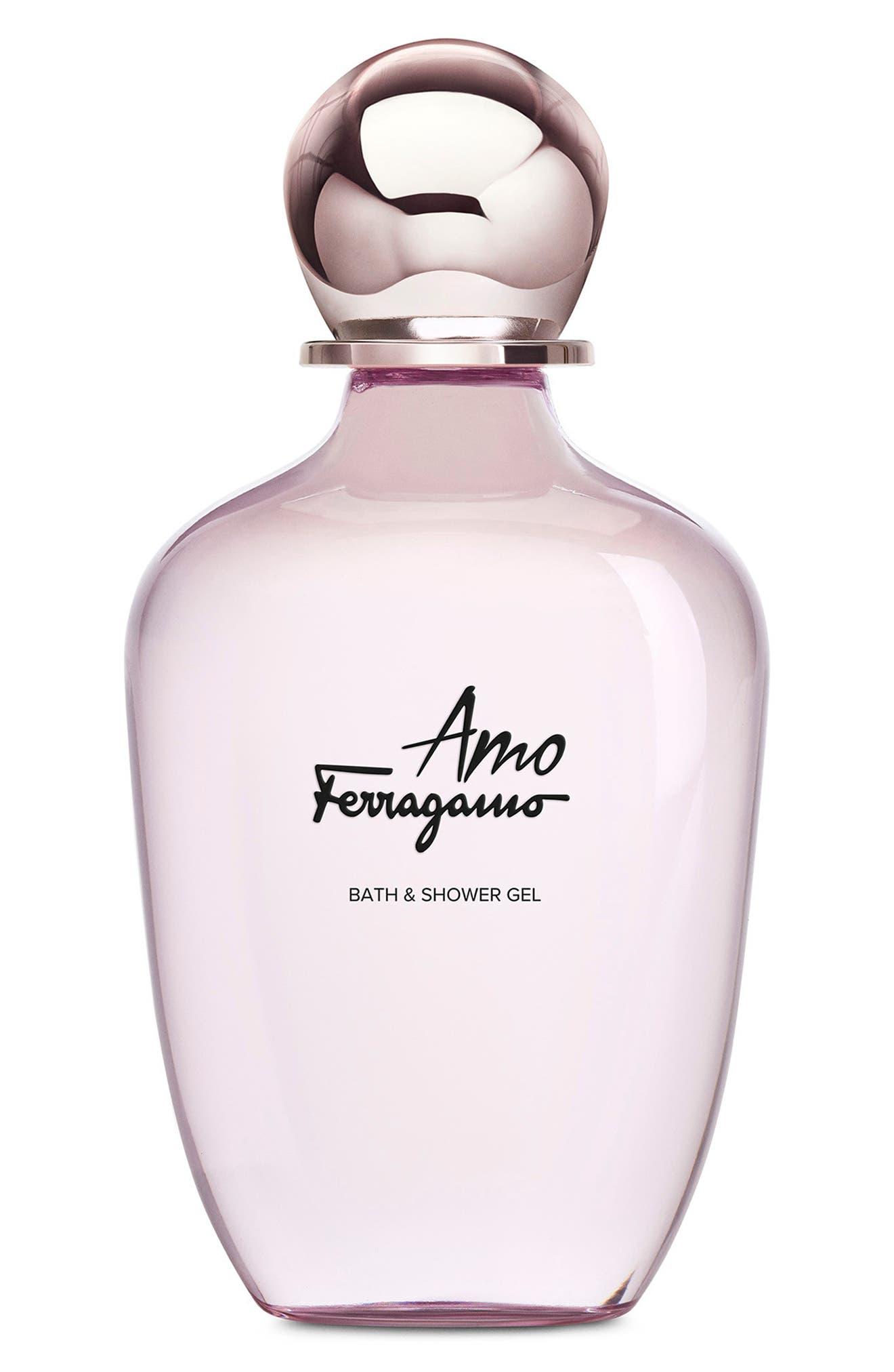 Amo Ferragamo Shower Gel, Main, color, NO COLOR