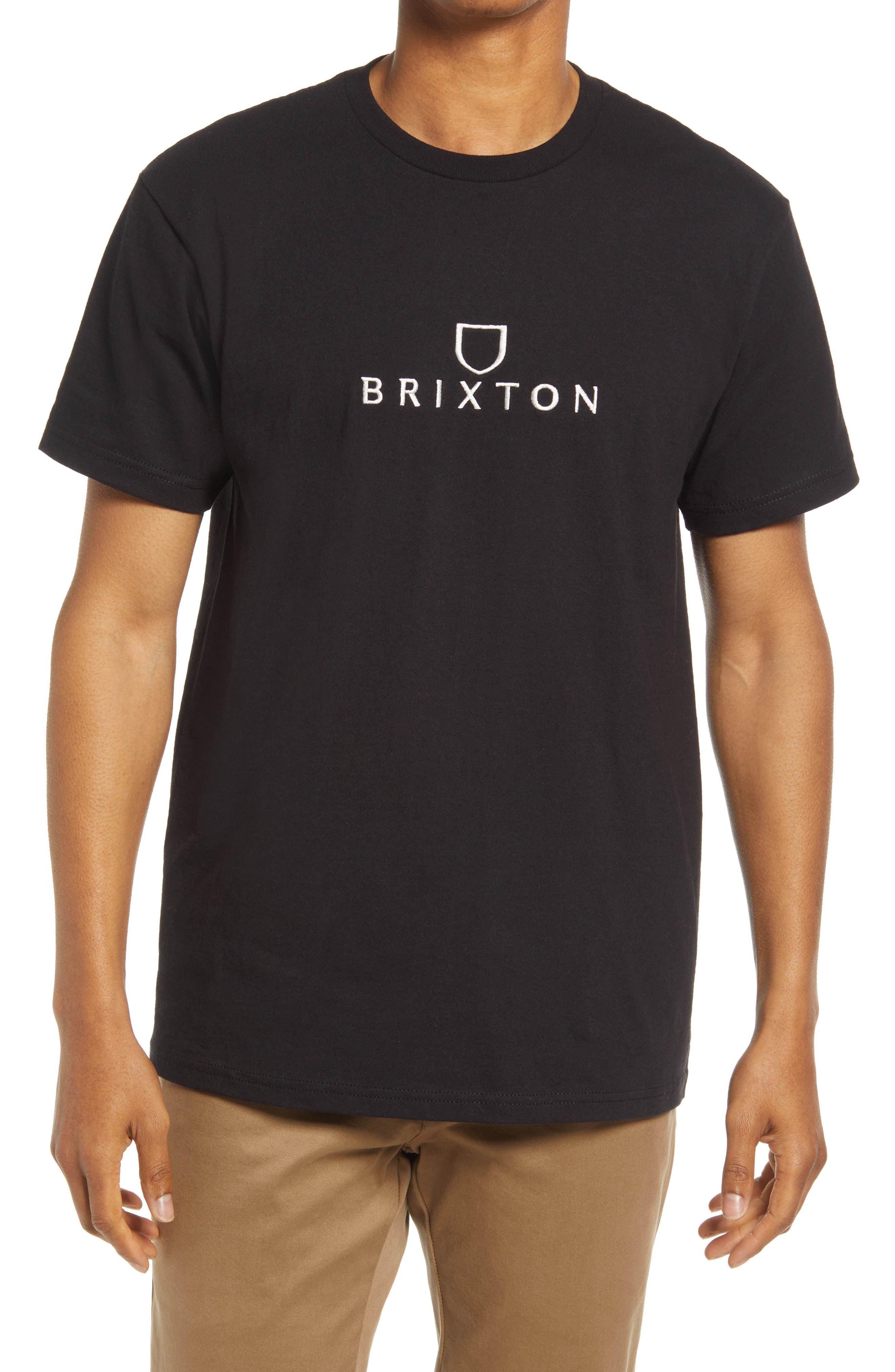 Alpha Thread Embroidered Logo T-Shirt