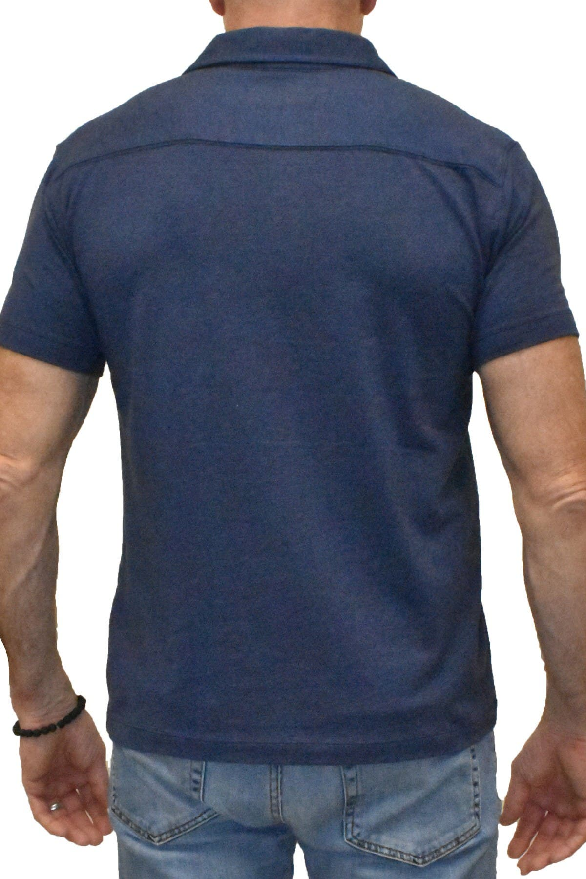 Image of Vintage 1946 Performance Stretch Trim Fit Polo Shirt