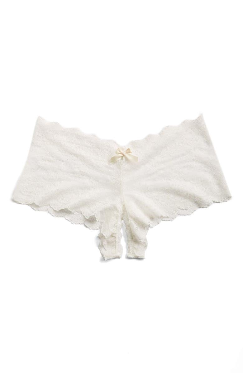 HANKY PANKY Open Gusset Panties, Main, color, 900