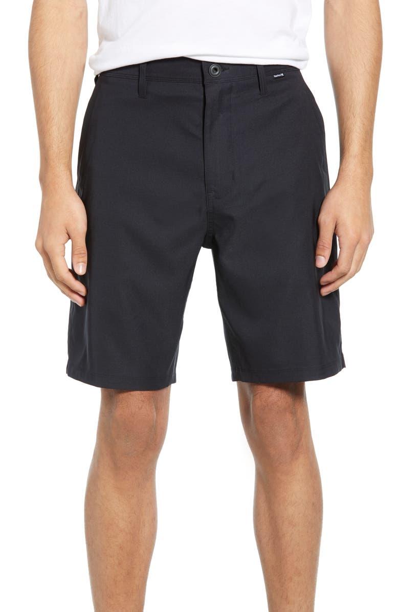 HURLEY Dri-FIT Shorts, Main, color, BLACK SOLID