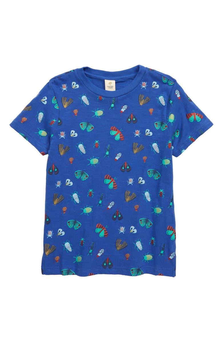 TUCKER + TATE x Smithsonian Kids' Graphic Tee, Main, color, BLUE DAZZLE FUN BUGS