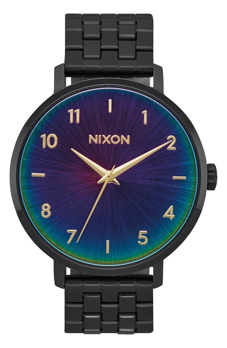 NIXON The Arrow Bracelet Watch, 38mm, Main, color, 017