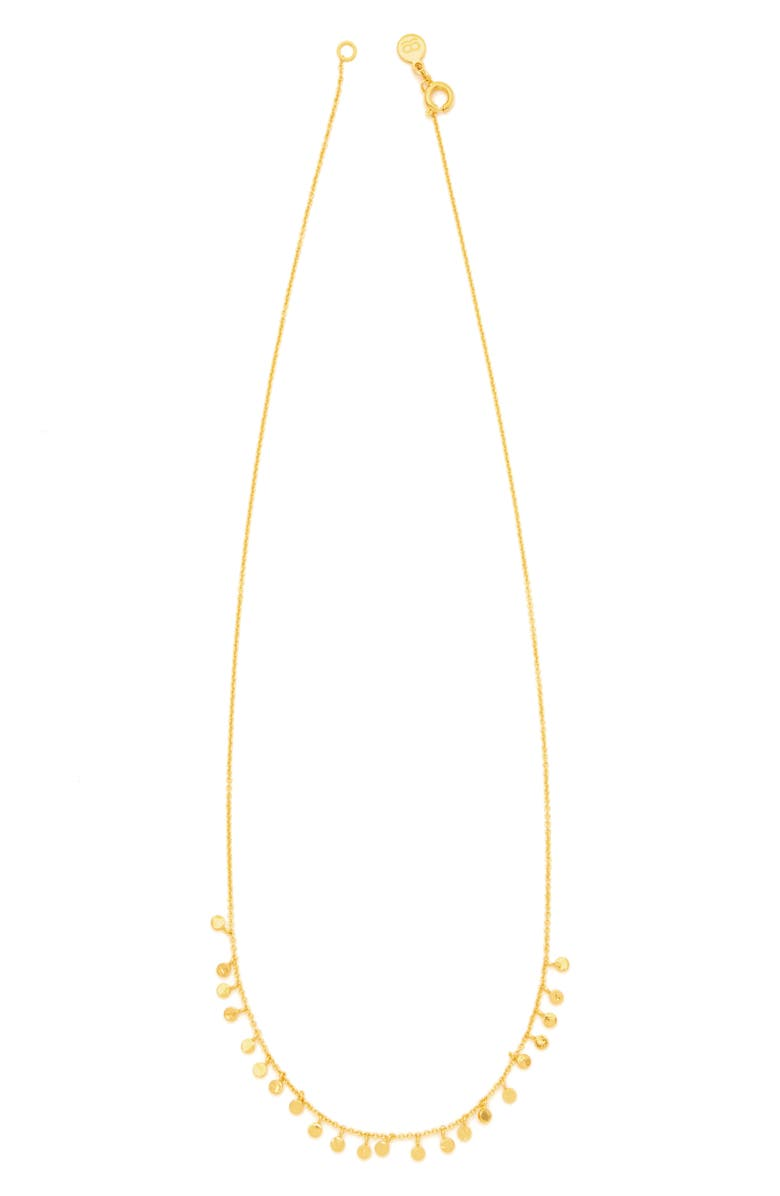 GORJANA Chloe Mini Strand Necklace, Main, color, GOLD