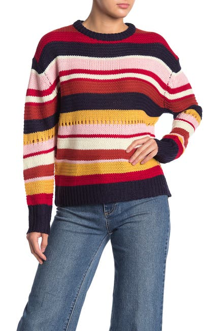 Image of Lush Multi Stripe Sweater