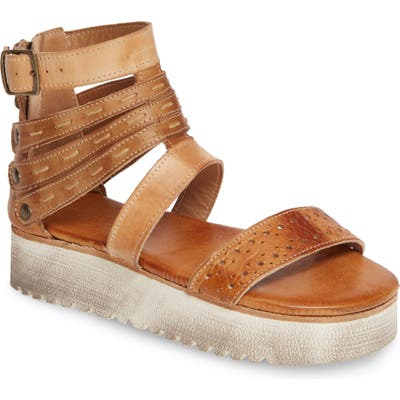 Bed Stu Artemia Platform Sandal- Brown