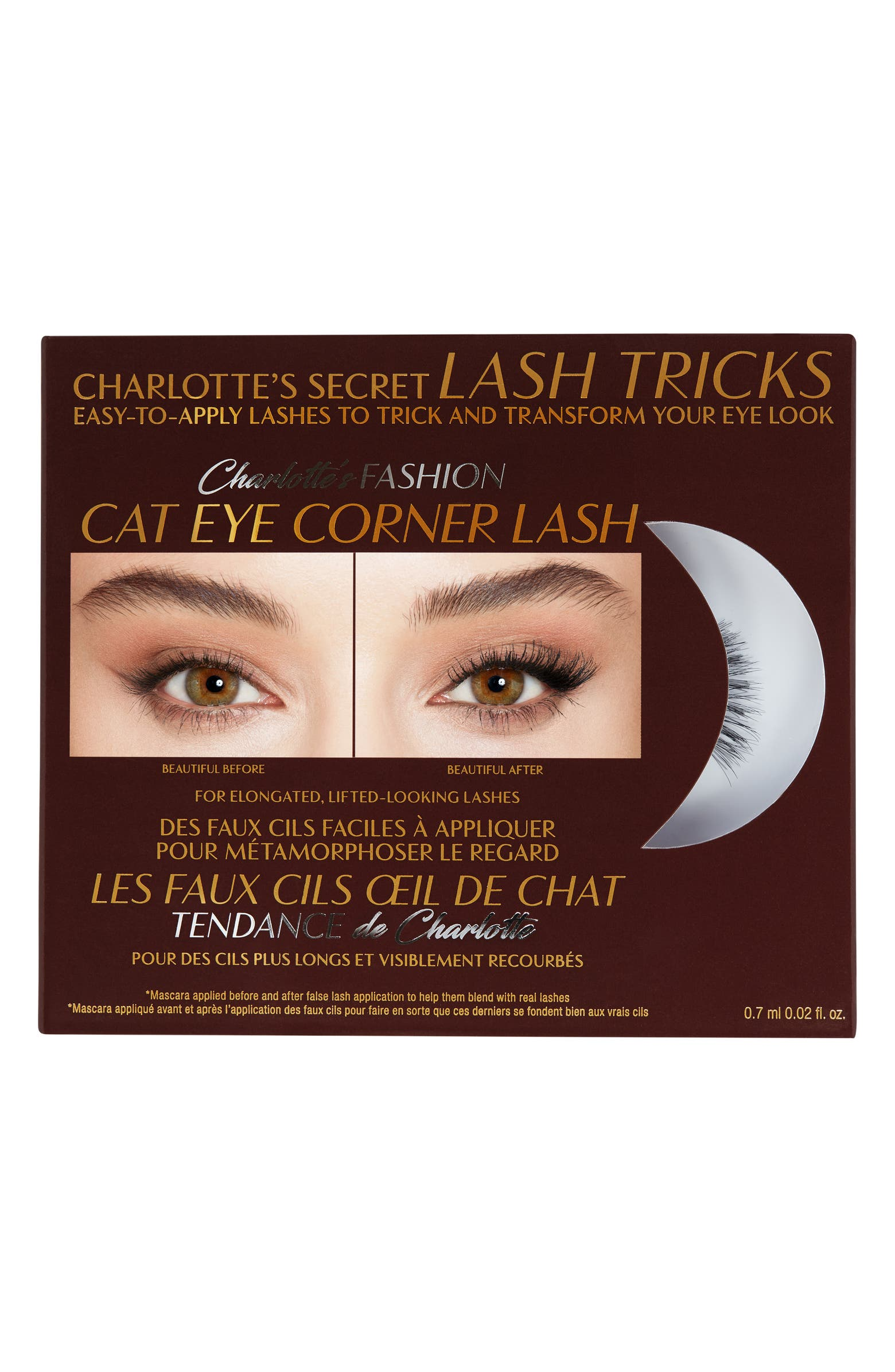 Fashion Cat Eye Corner Lash False Lashes CHARLOTTE TILBURY
