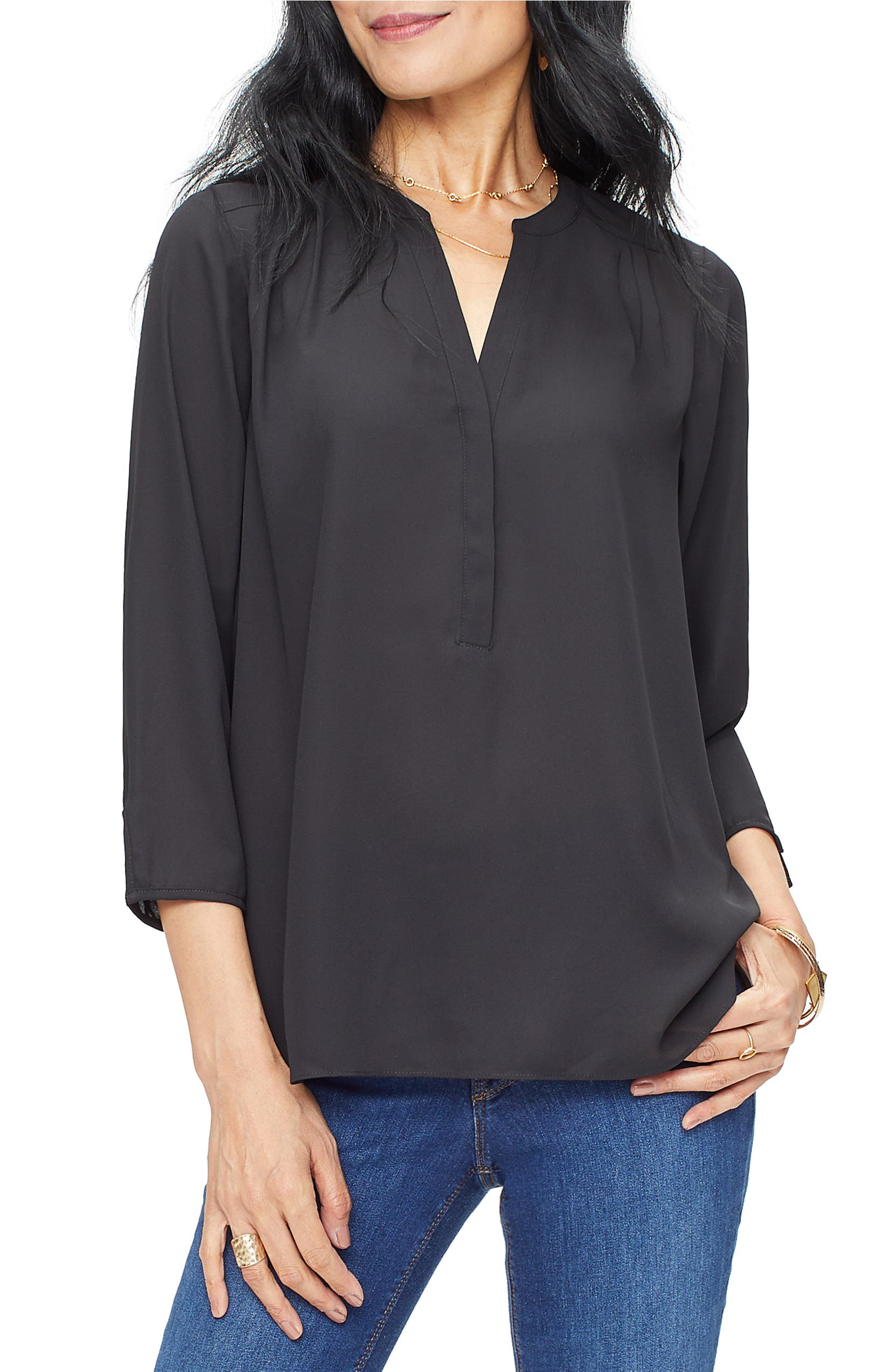 0fcbe1ff4812ac Curves 360 by NYDJ Perfect Blouse (Regular & Petite) | Nordstrom