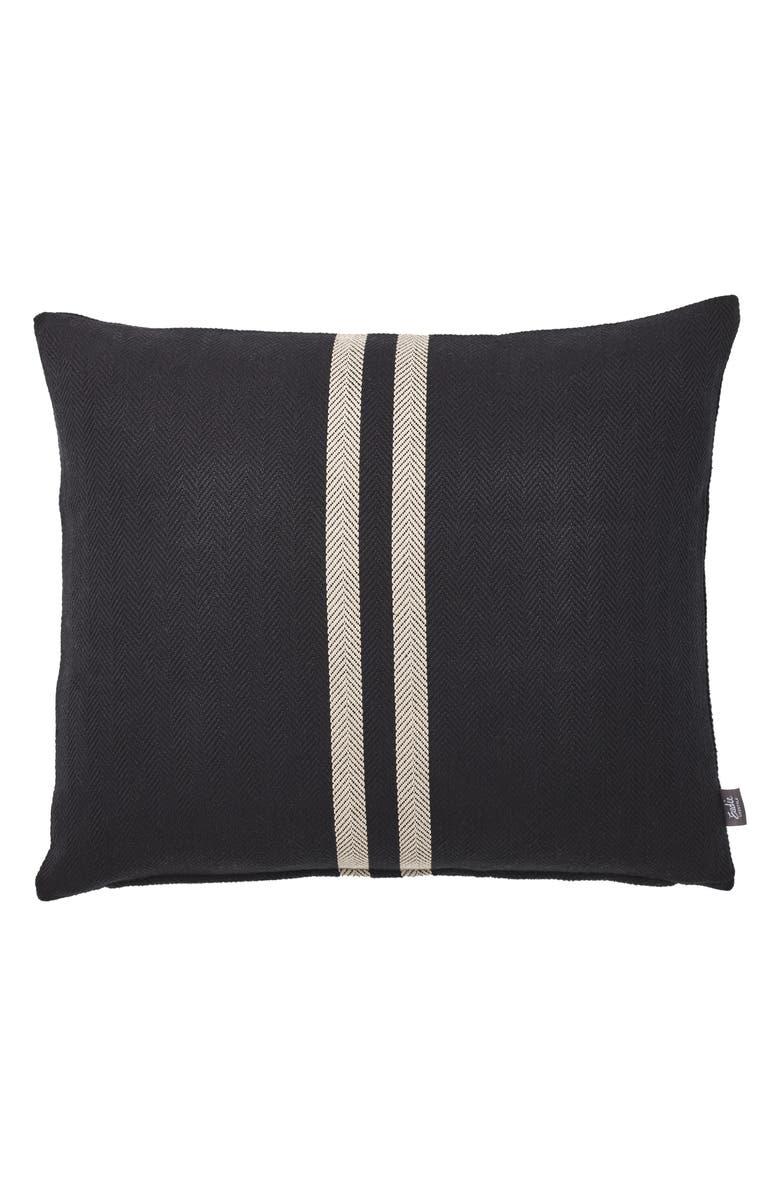 EADIE LIFESTYLE Simpatico Accent Pillow, Main, color, BLACK/ NATURAL