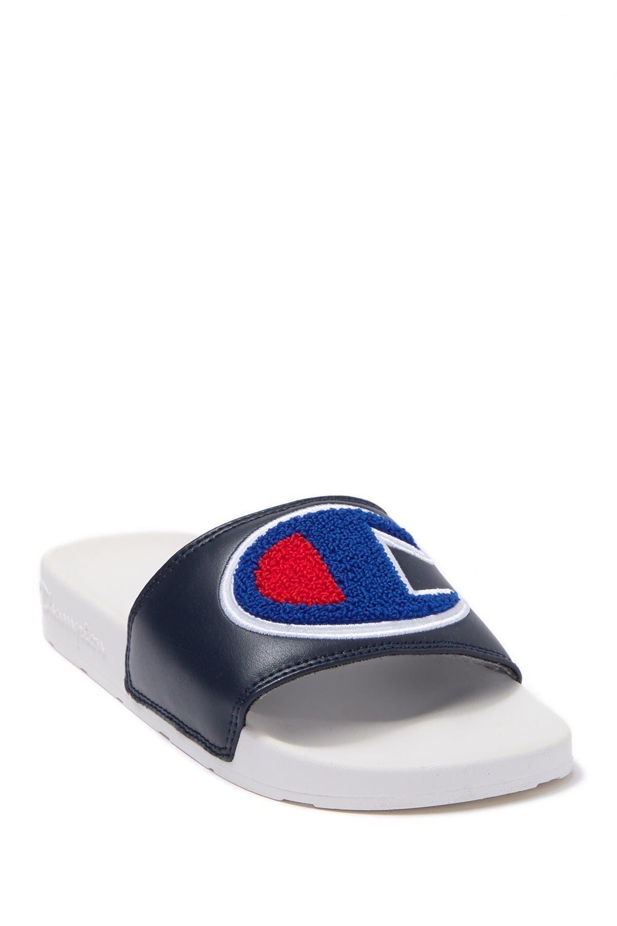 Image of Champion IPO Chenille Slide Sandal