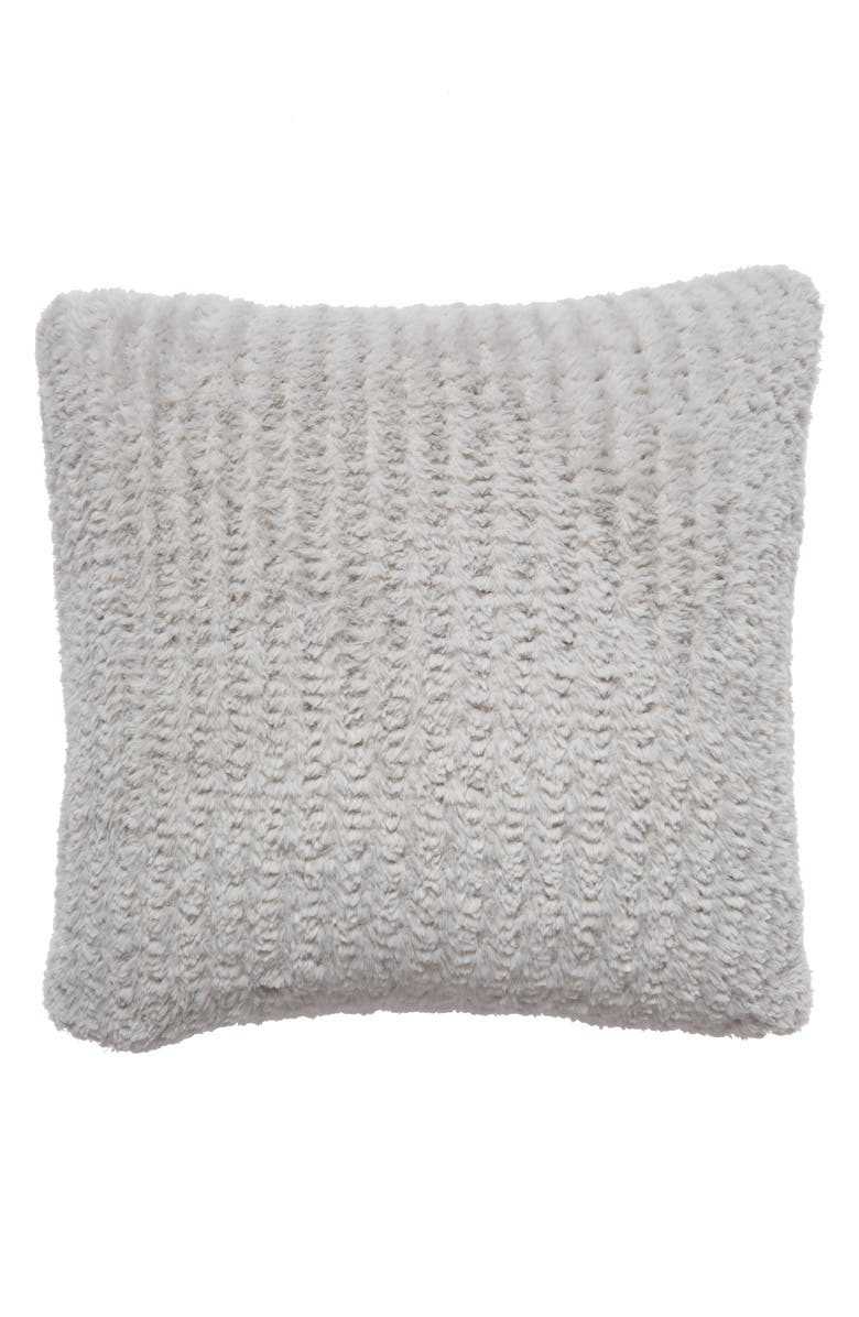 NORDSTROM AT HOME Lazy Days Faux Fur Accent Pillow, Main, color, 020
