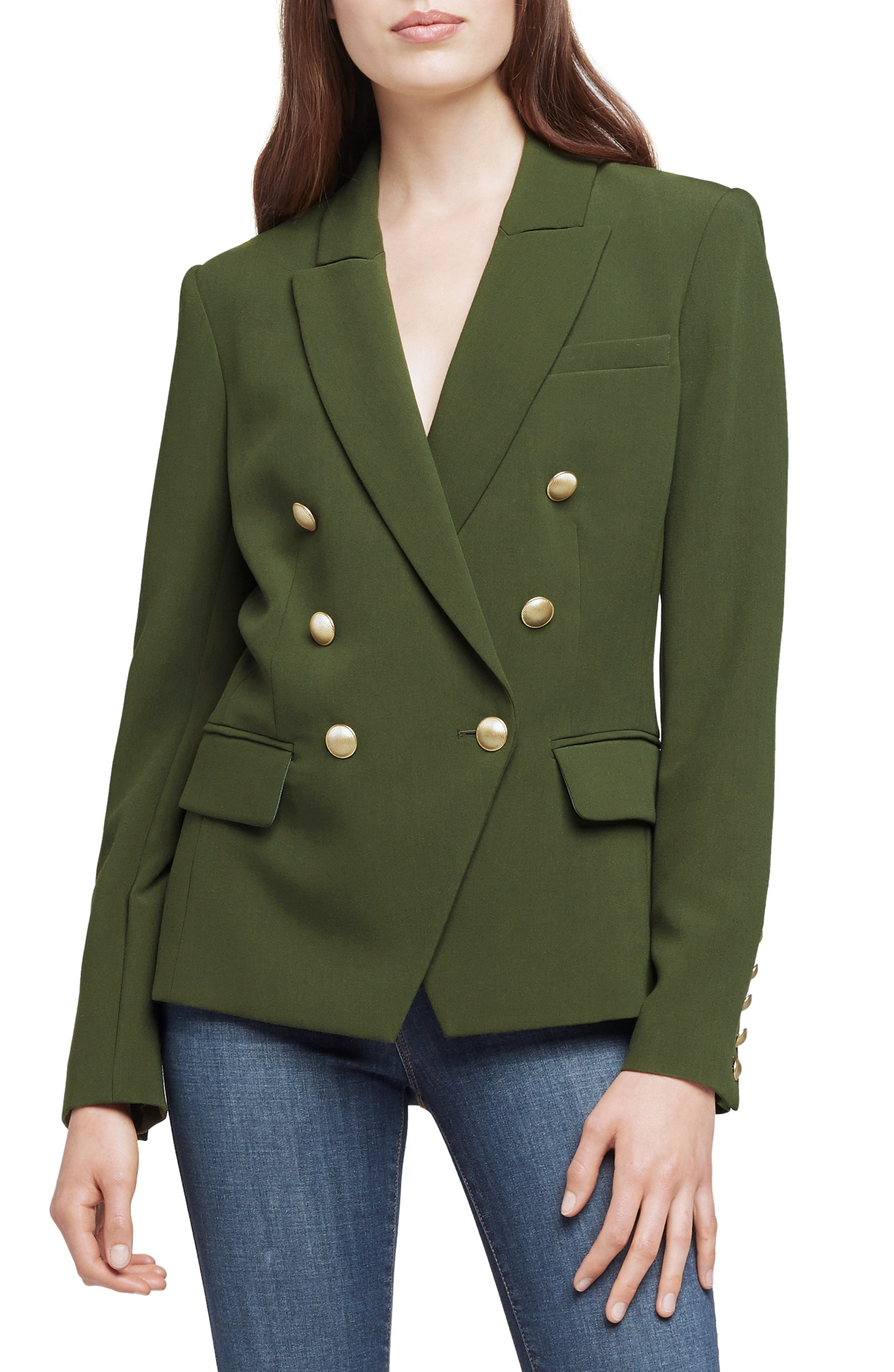 L Agence KENZIE DOUBLE BREASTED BLAZER