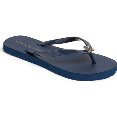 Jack Rogers Kennedy Flip Flop, Blue