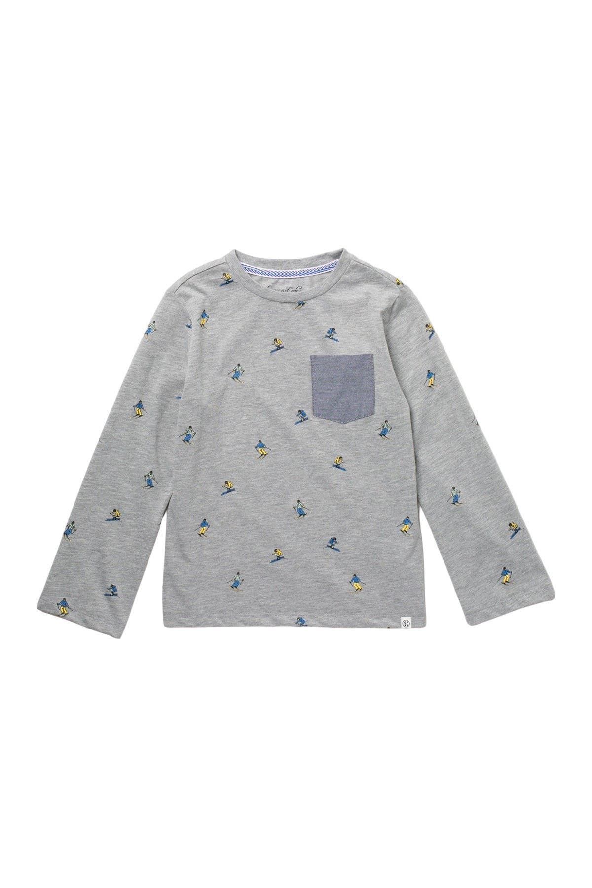Image of Sovereign Code Wrap Long Sleeve Pocket T-Shirt