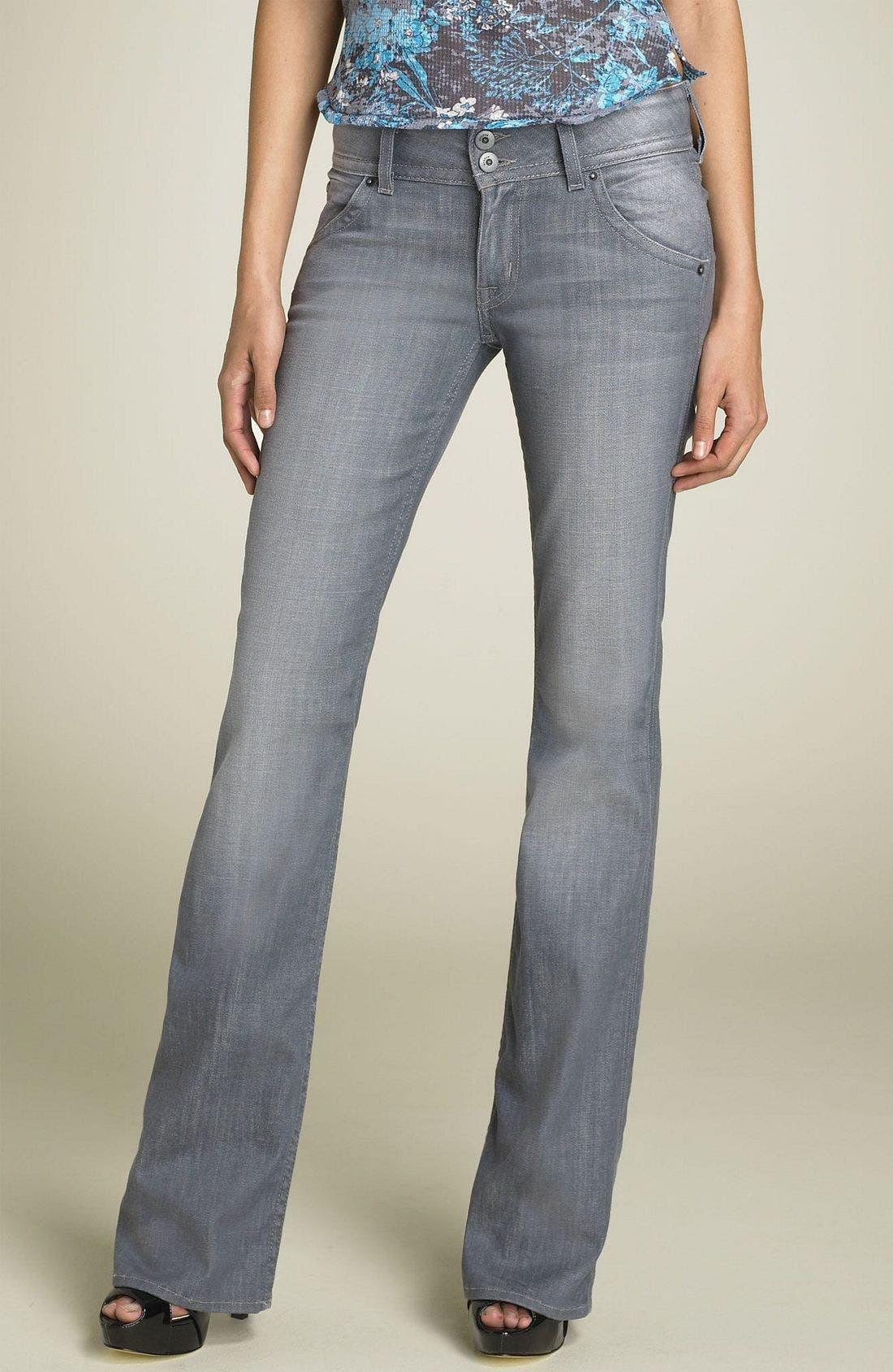,                             Signature Flap Pocket Bootcut Jeans,                             Main thumbnail 16, color,                             032