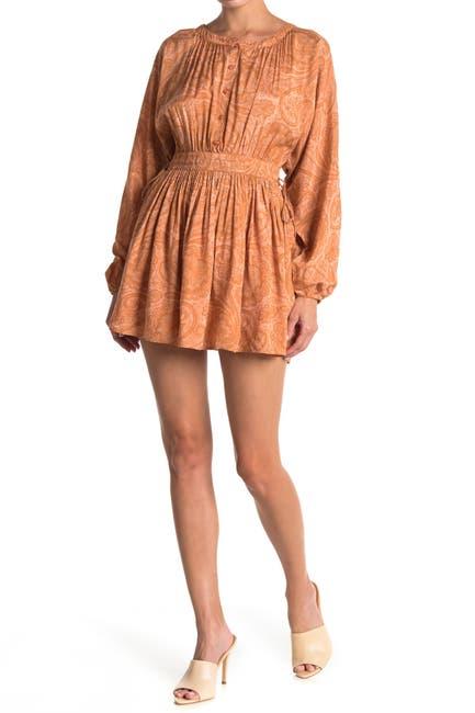 Image of Amuse Society Luciana Long Sleeve Woven Dress