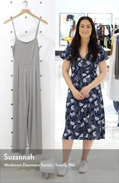 Rawa Jersey Crop Jumpsuit, sales video thumbnail