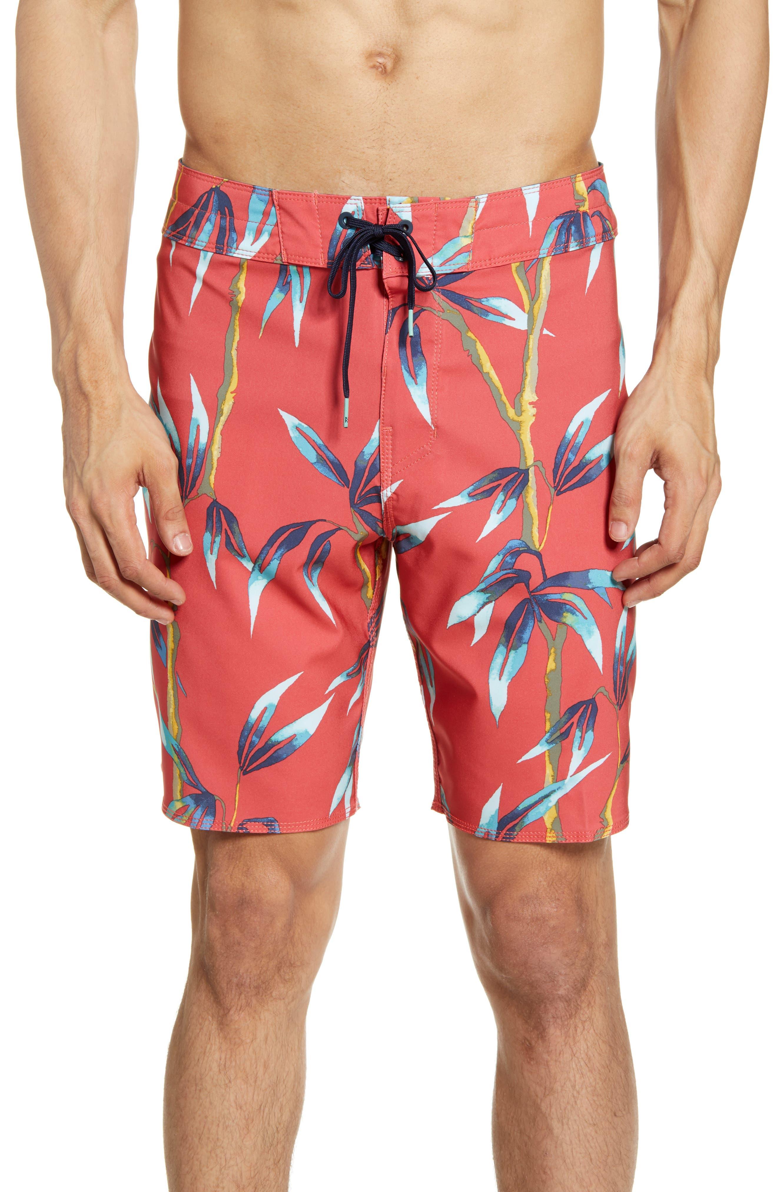 Billabong Sundays Pro Board Shorts, Red