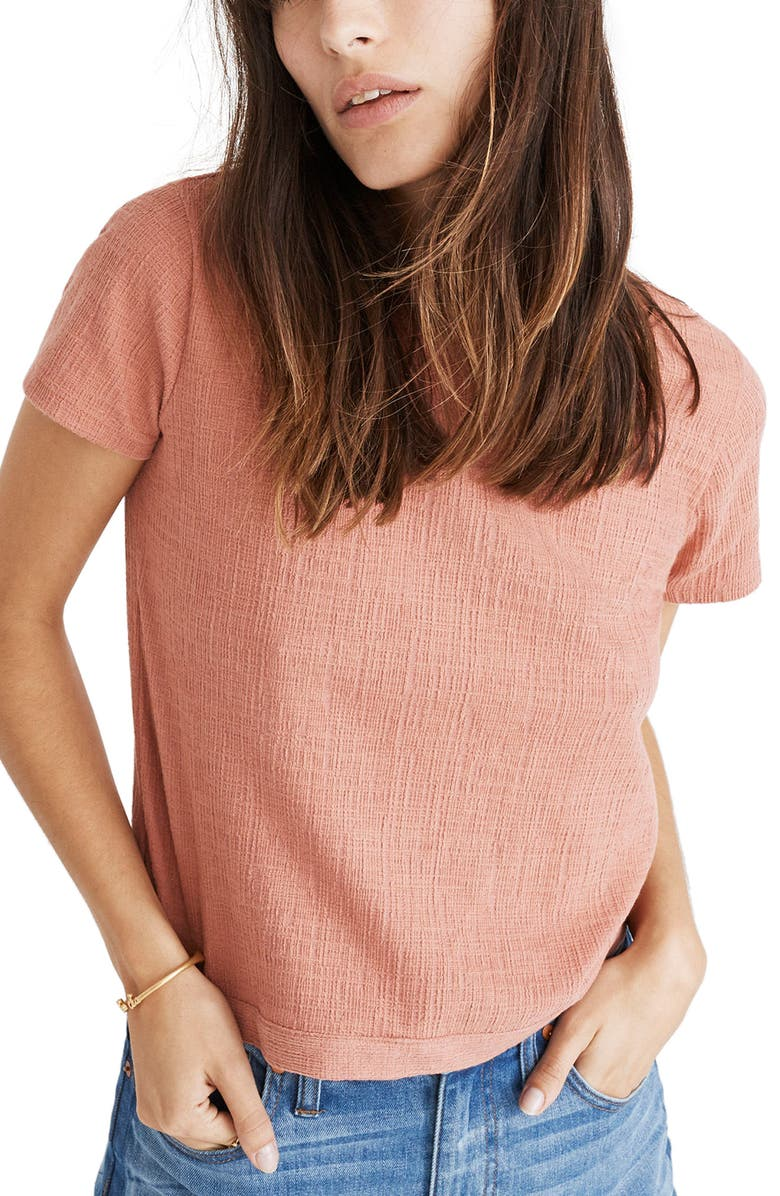 MADEWELL Verse Tie Back Top, Main, color, 650