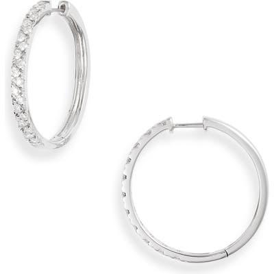 Bony Levy Getty Diamond Pebble Hoop Earrings (Nordstrom Exclusive)