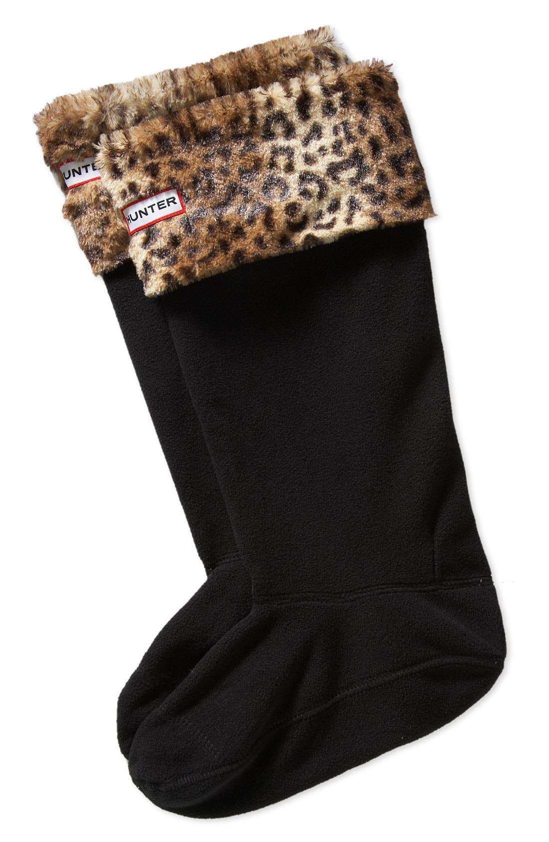 ,                             Tall Stripe Cuff Welly Socks,                             Main thumbnail 10, color,                             960