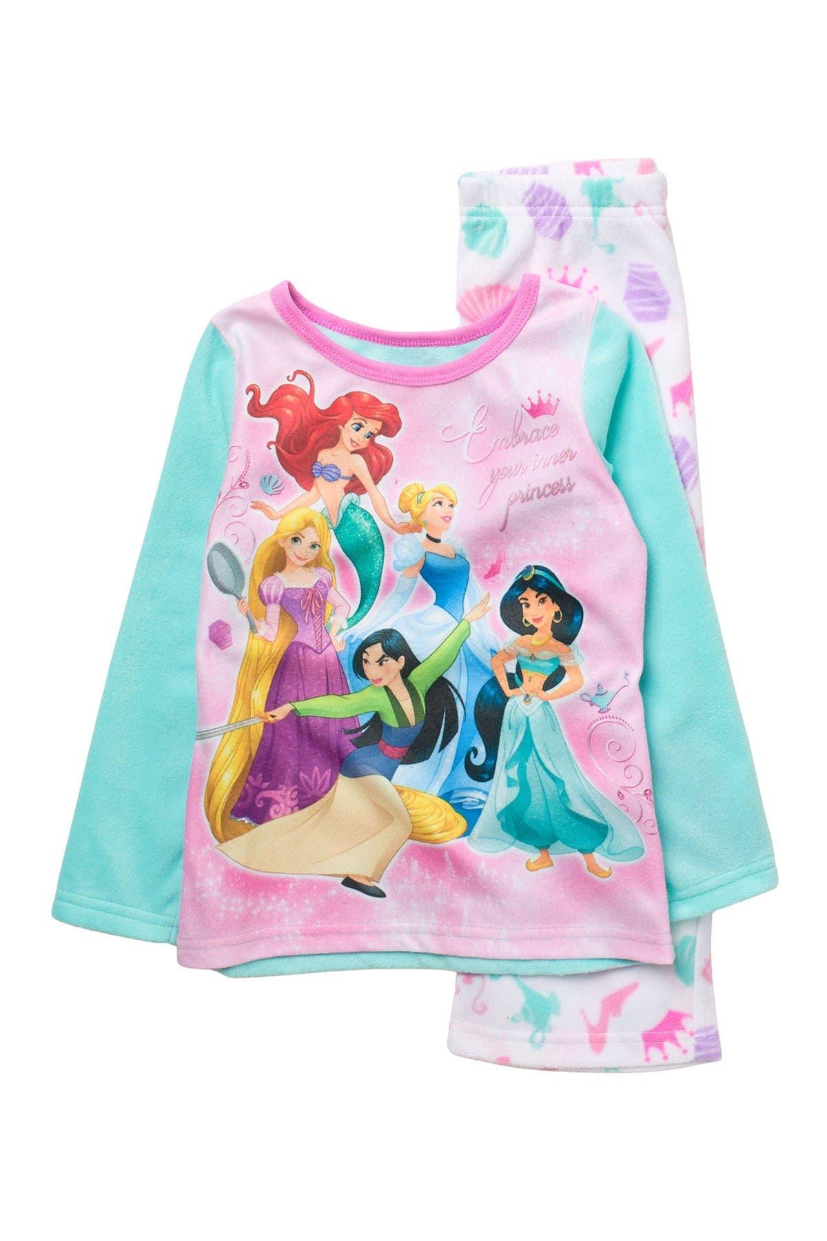 Image of AME Princess Top & Bottoms Pajama Set