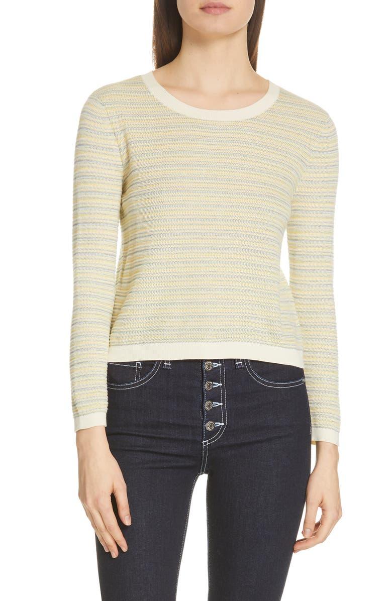 VERONICA BEARD Boise Stripe Sweater, Main, color, 751