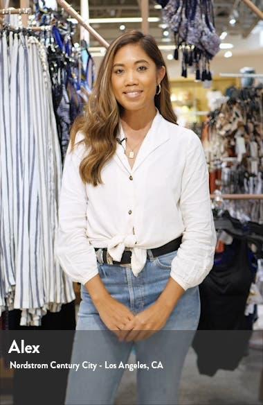 Gwen High Waist Skinny Jeans, sales video thumbnail