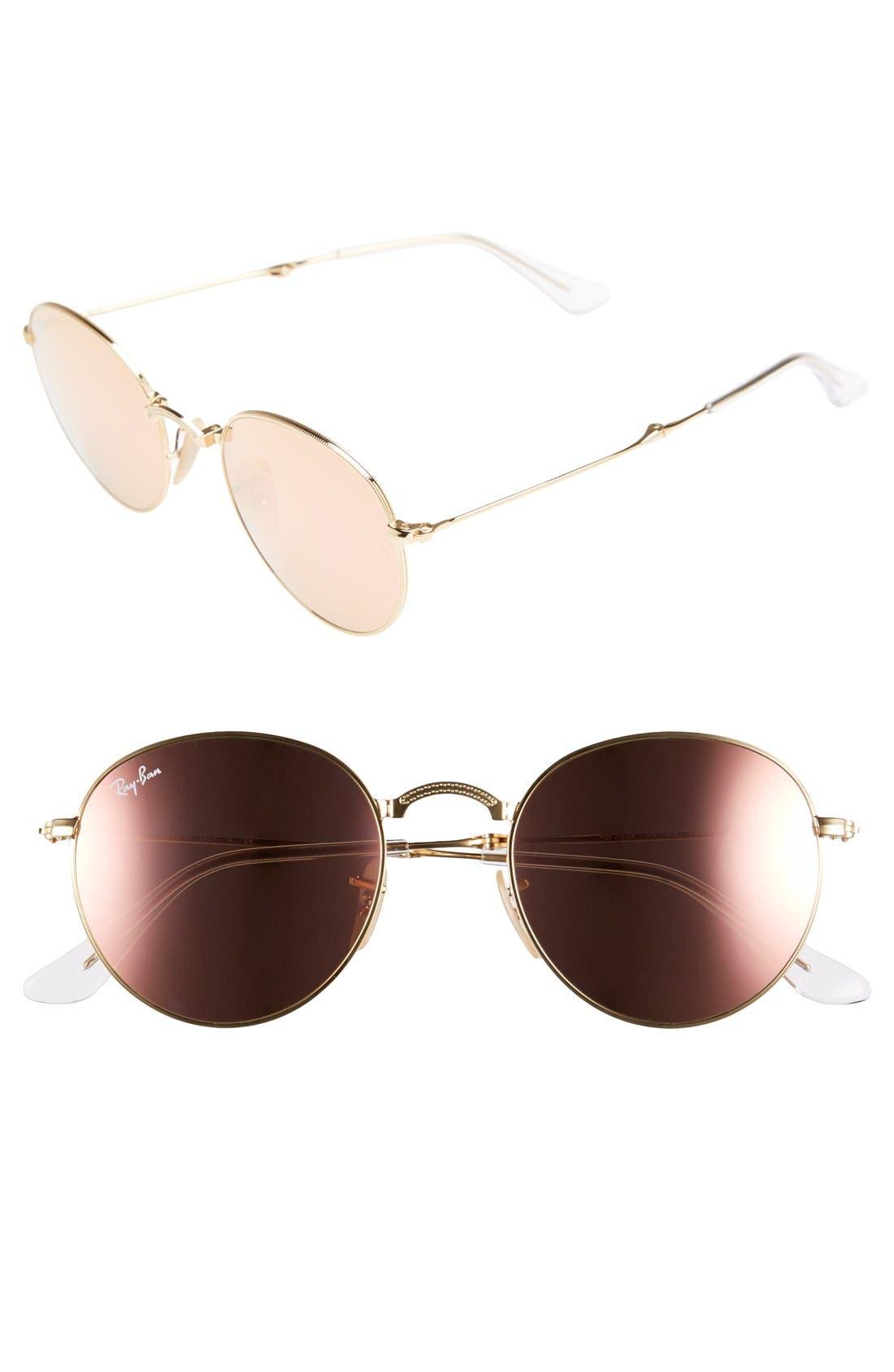 ,                             Icons 50mm Folding Sunglasses,                             Main thumbnail 5, color,                             114