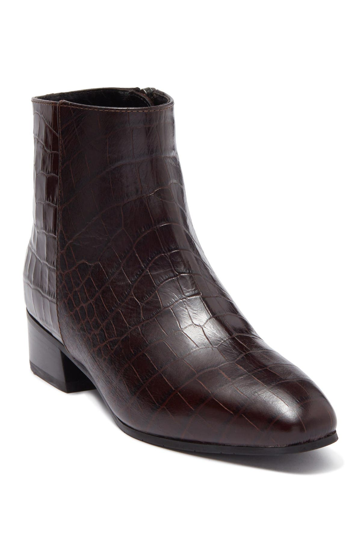 Image of Aquatalia Fuoco Croc Embossed Bootie