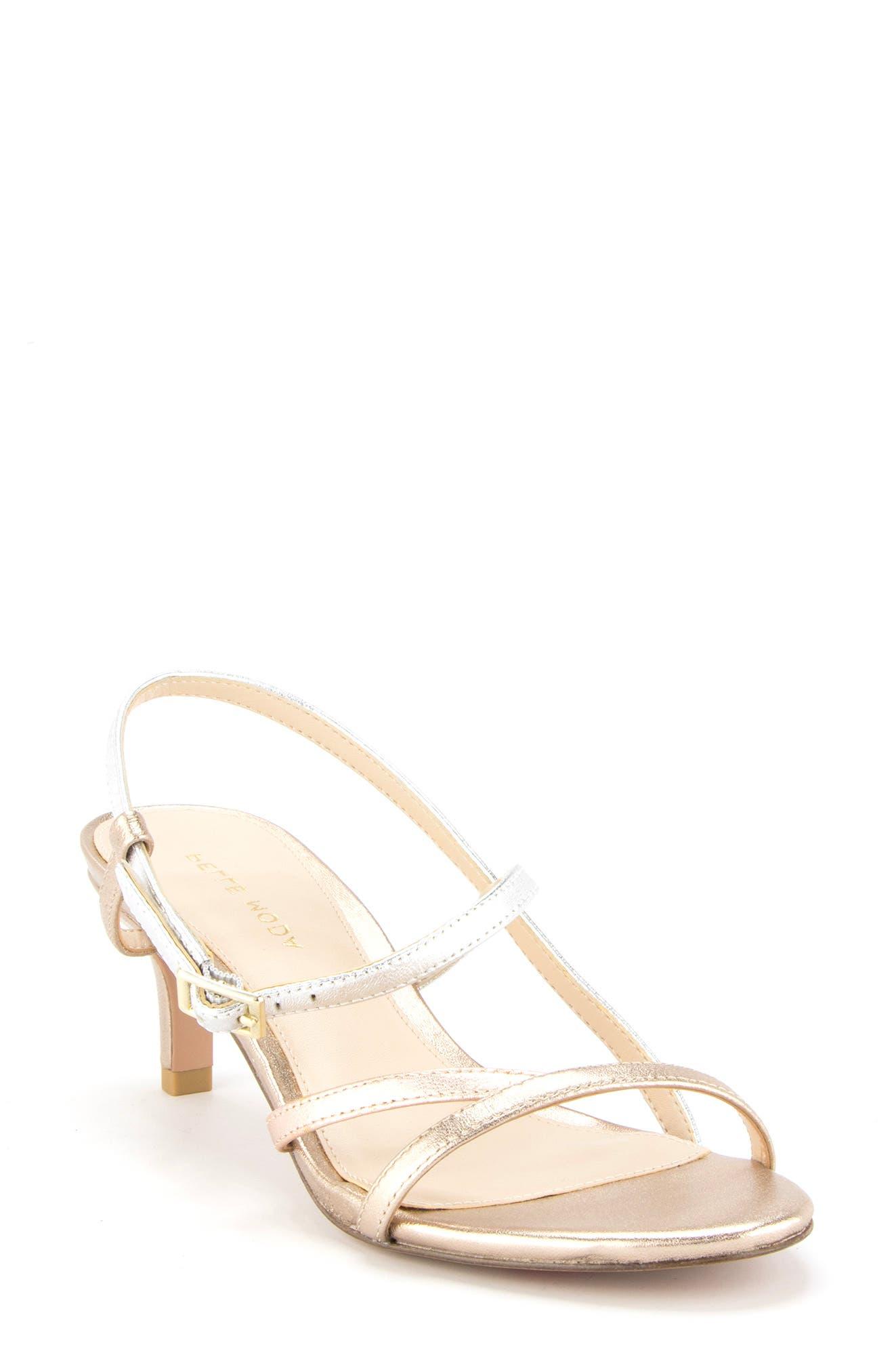 Women s Pelle Moda Betty Slingback Sandal E5144