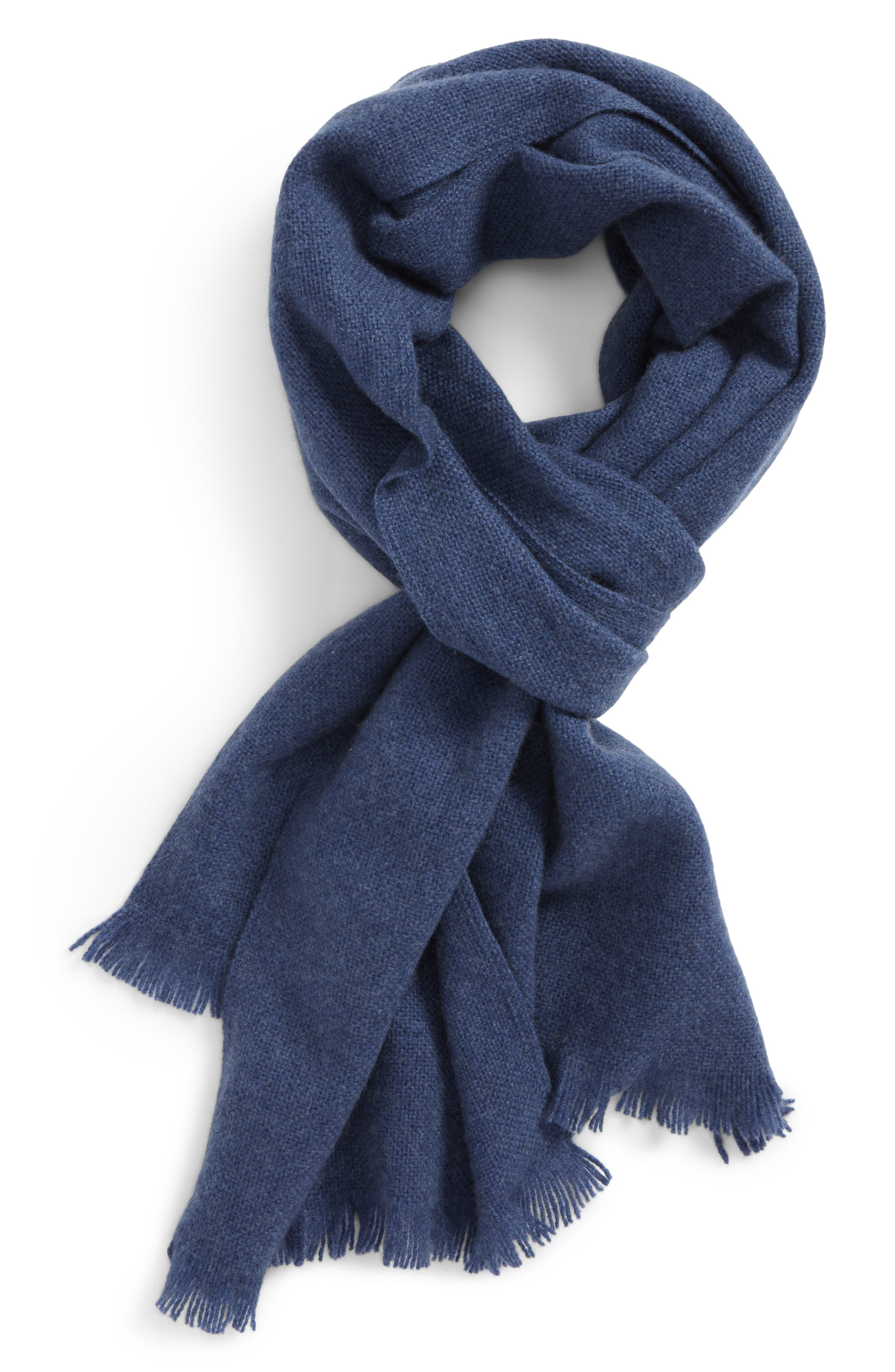,                             Solid Cashmere Scarf,                             Main thumbnail 17, color,                             410