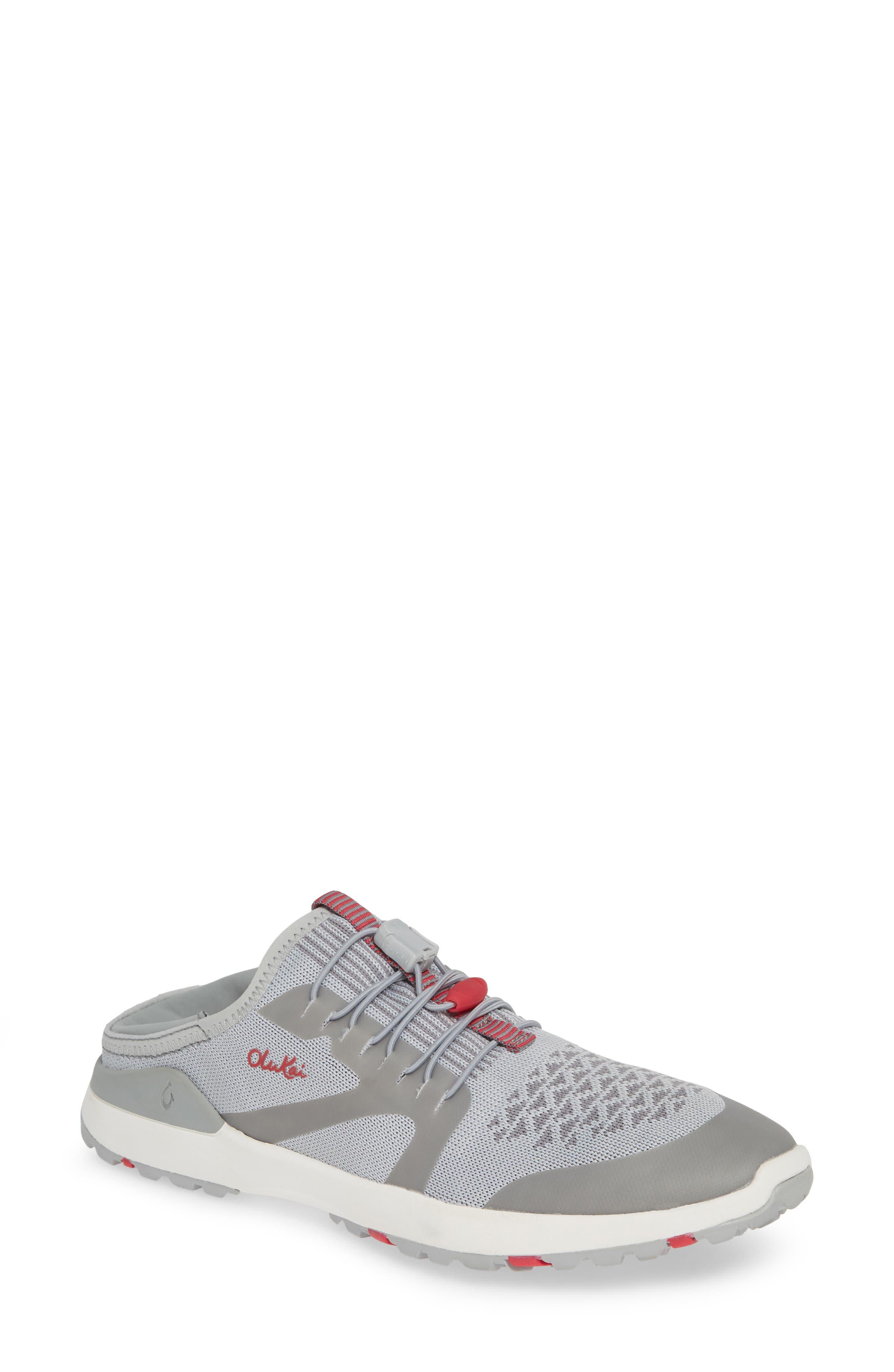 Olukai Miki Convertible Sneaker- Grey