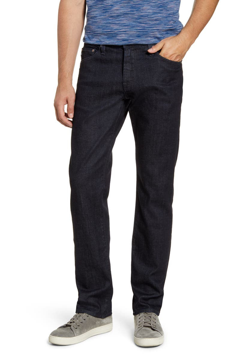 AG Graduate Slim Straight Leg Jeans, Main, color, BANKER