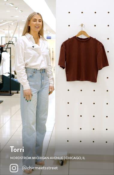 Cool Girl Crop T-Shirt, sales video thumbnail