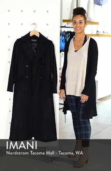 Double Breasted Long Wool Coat, sales video thumbnail