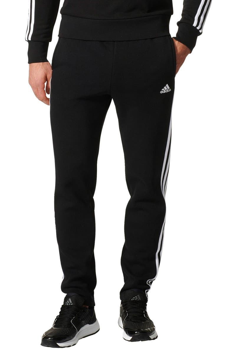 adidas Essentials 3S Tapered Fit Track Pants   Nordstrom