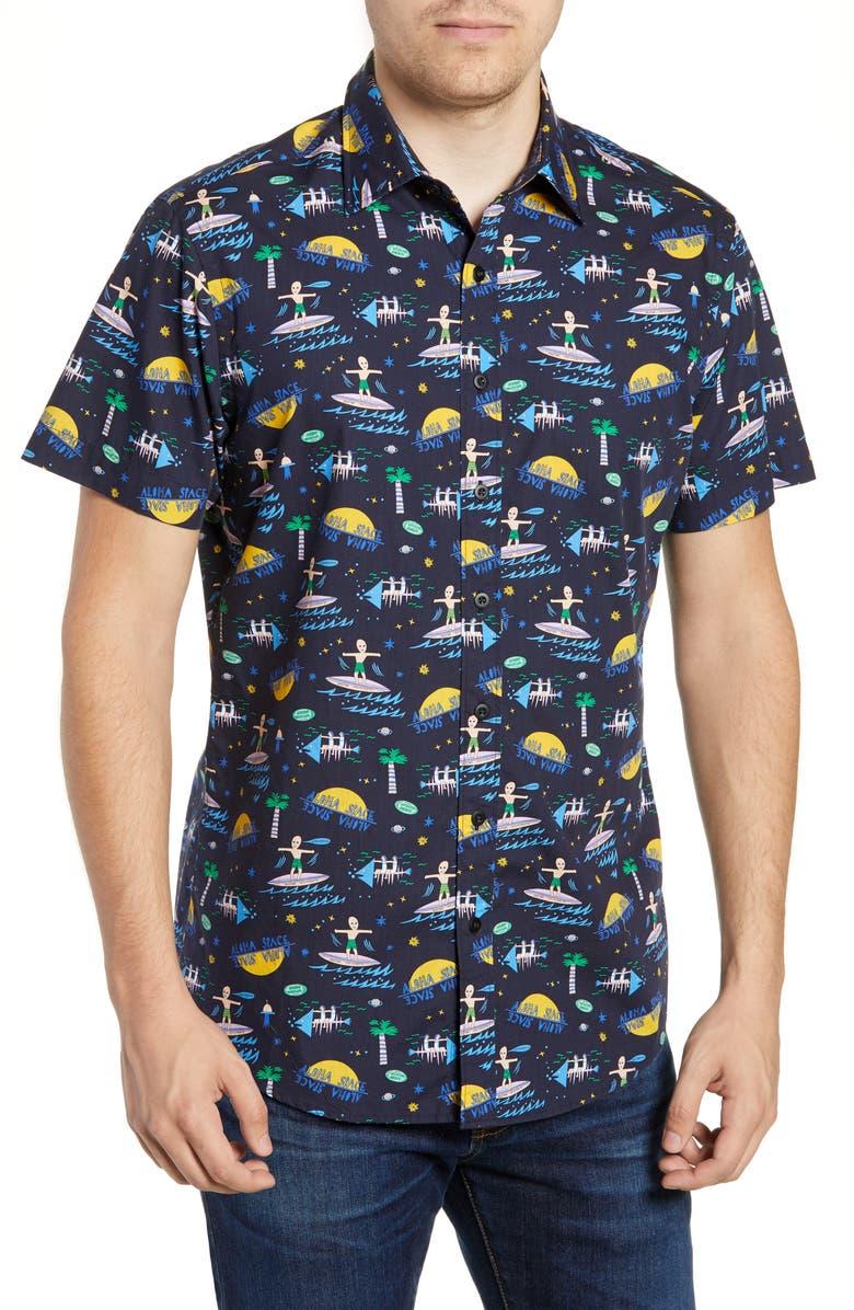 RODD & GUNN Rippingdale Regular Fit Shirt, Main, color, 412