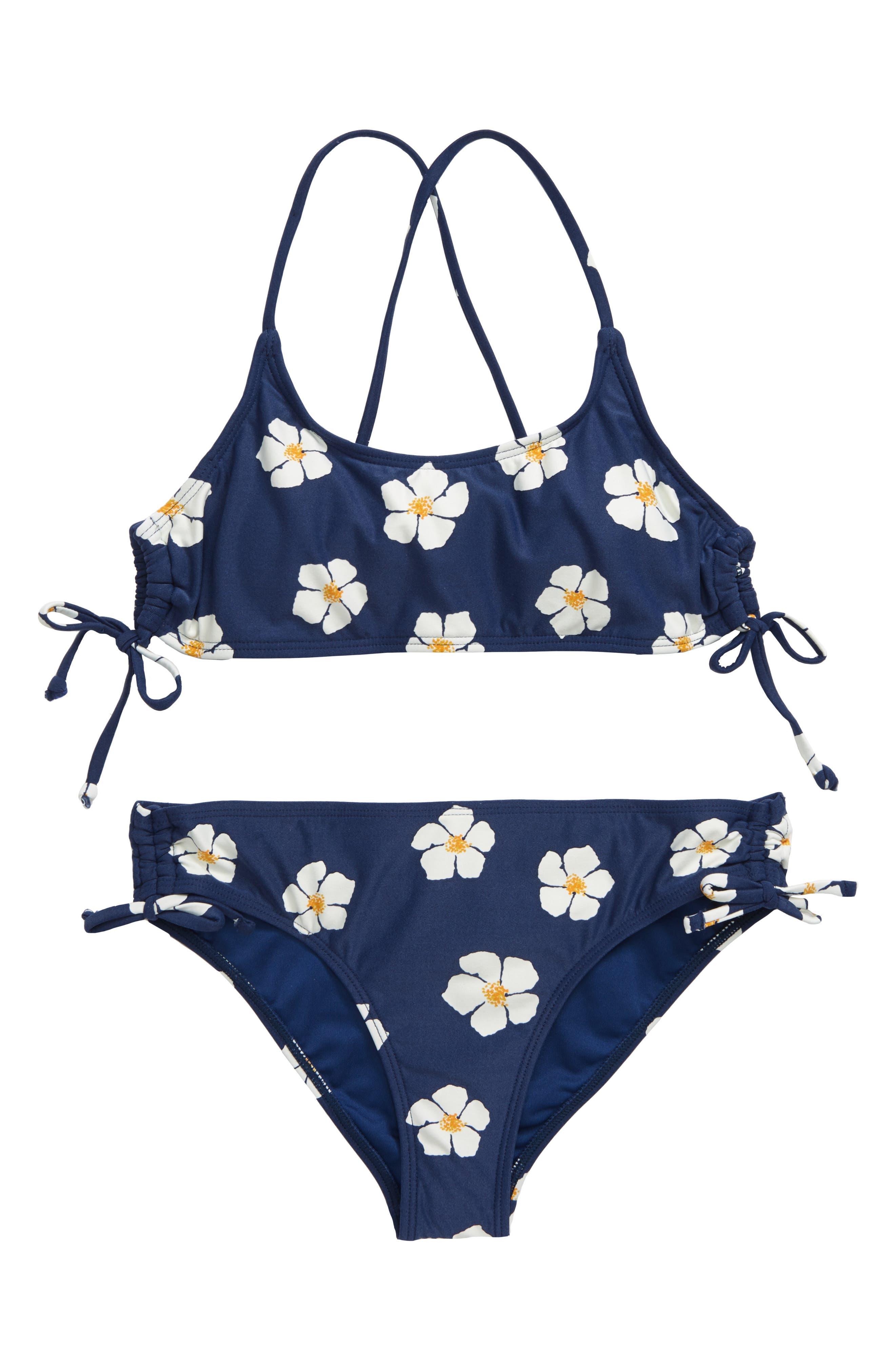 Girls ONeill Tinley TwoPiece Swimsuit Size 14  Blue