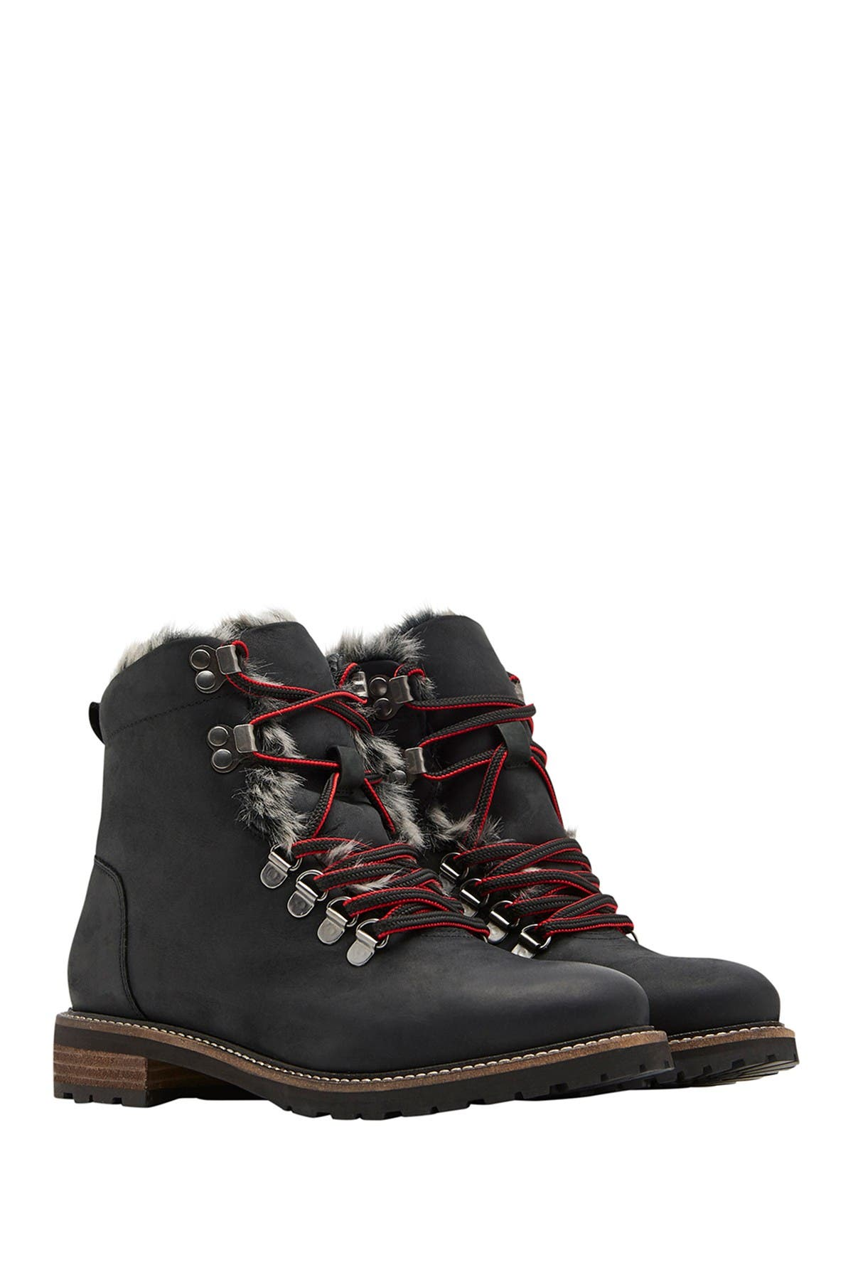 Image of Joules Ashwood Faux Fur Lined Hiker Boot